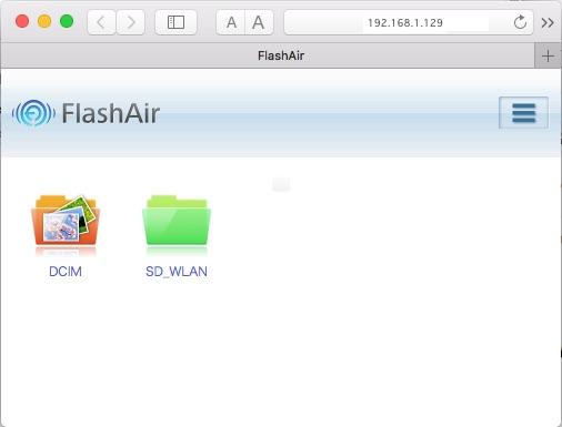 18 12 8 FlashAirを無線LAN子機として使う:すノ頁